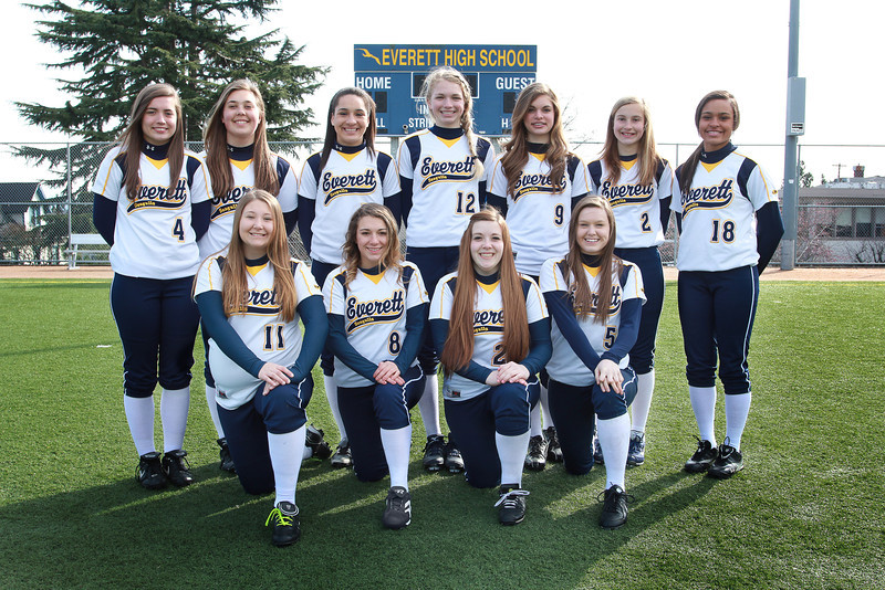 Everett Varsity Softball 2013