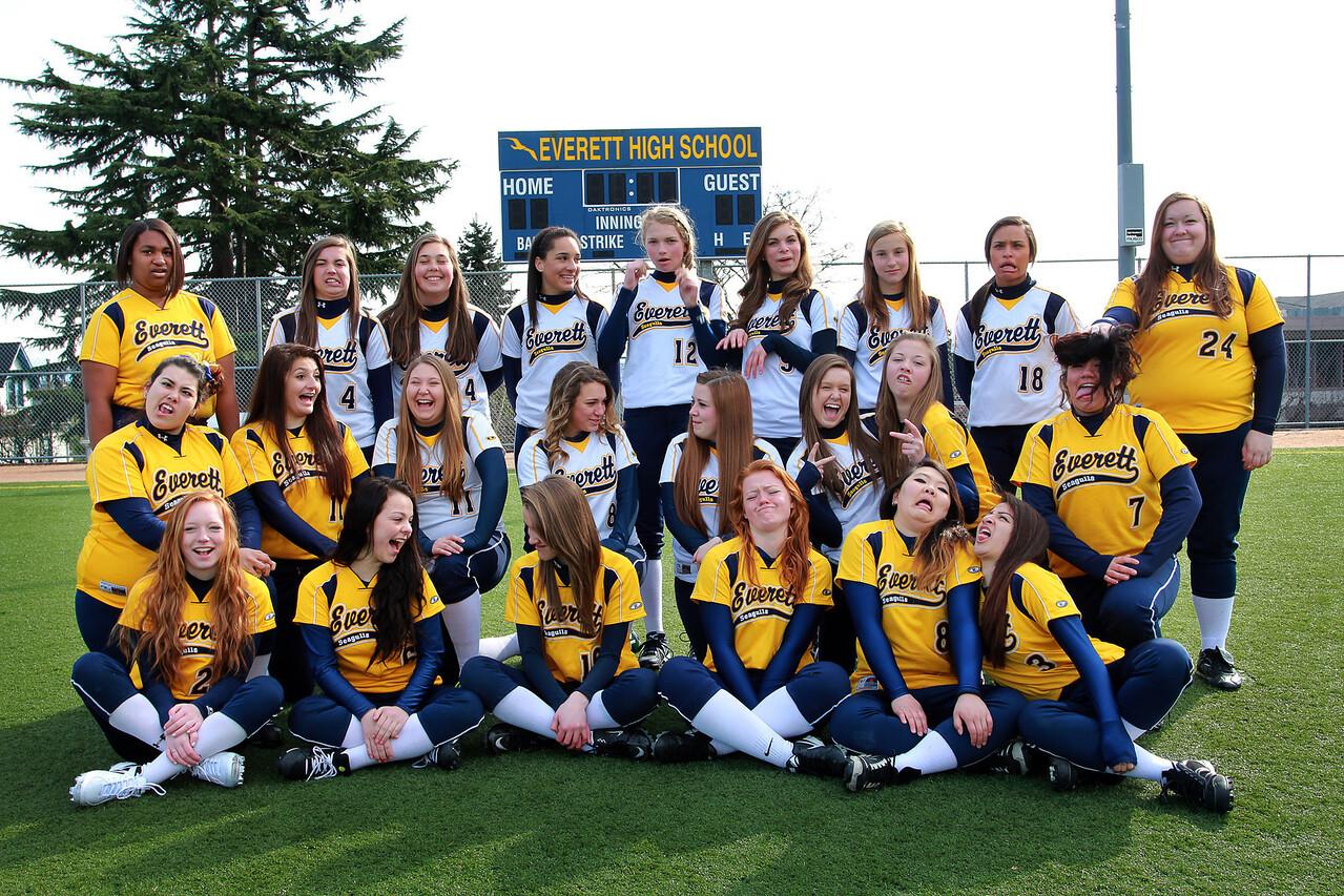 Everett Silly Girls 2013