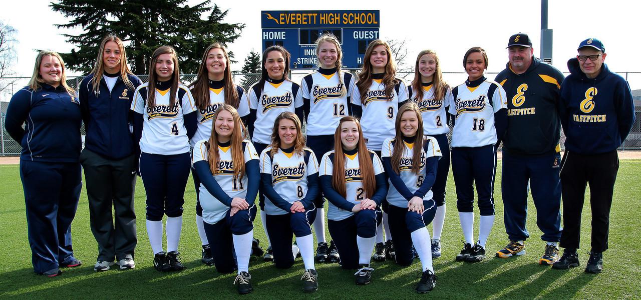 Everett Varsity-Coaches 2013
