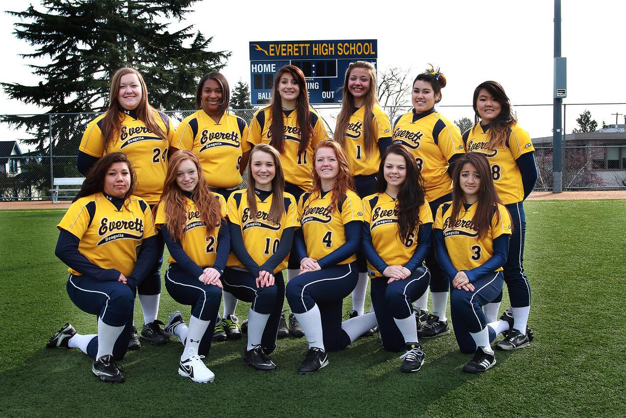 Everett Softball JV 2013