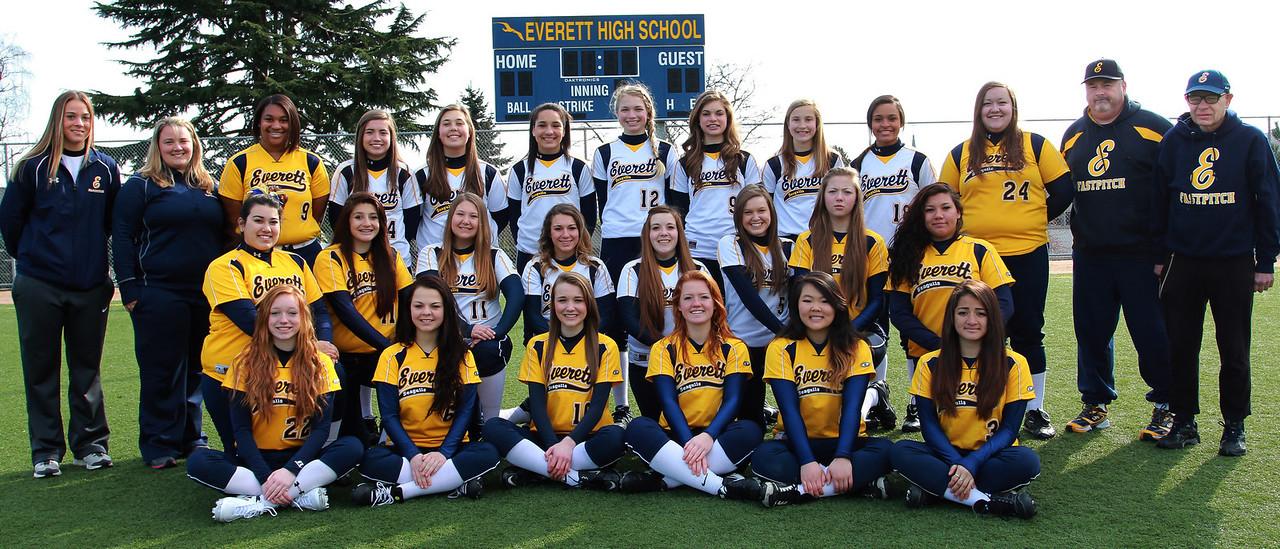 Everett Fastpitch Softball JV, Varsity and Coaches