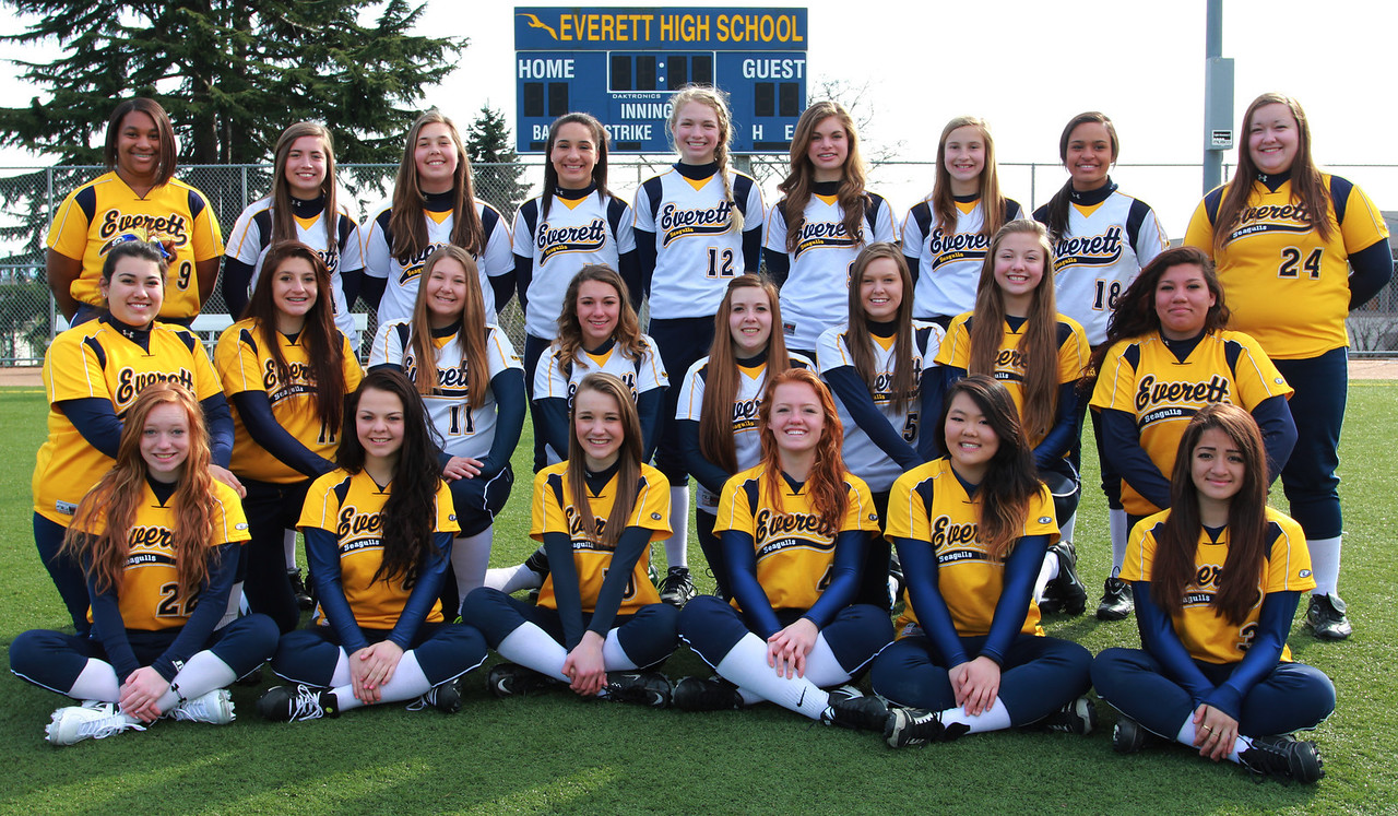 Everett Fastpitch Softball JV and Varsity 2013