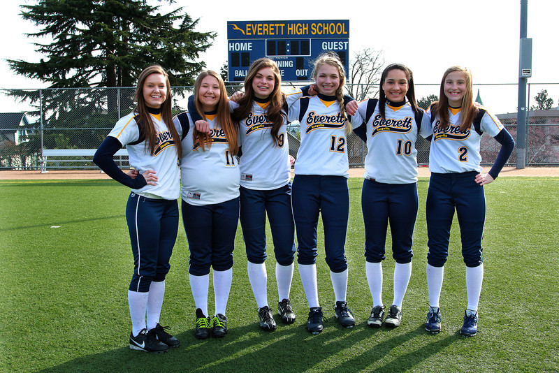 Everett Fastpitch Softball Froshman Varsity 2013