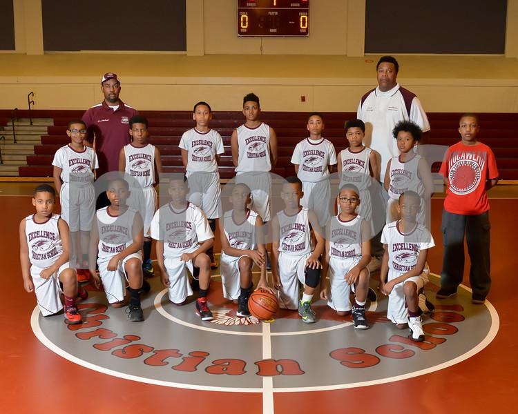 ECS Elementary Basketball Team Photo-7