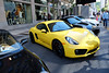 2014 Porsche Cayman S in the streets (Peel) of Montreal.