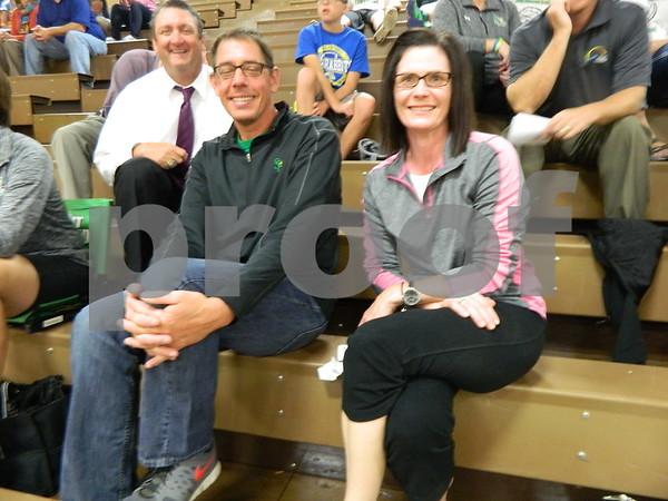 Left to right: Dan Kinney, Alan Viaene, and Melssa Viaene