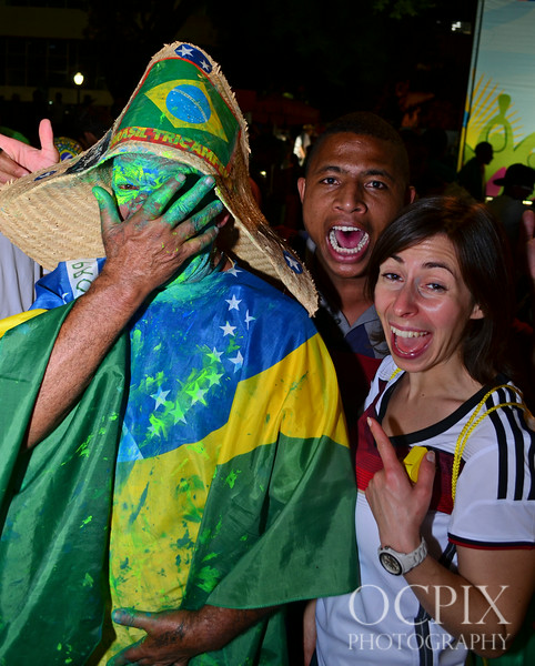Crazy stuff at the World Cup in Brazil