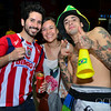 Tattoo guy at the World Cup Fan Fest in Sao Paulo Brazil 2014