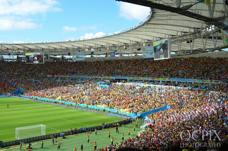Maracanã Stadium during the World Cup 2014