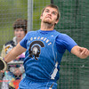 Longmont's Miles Bergner throws the discus during the last day of the 2012 Colorado High School State Track and Field Championships at Jefferson County Stadium on Saturday, May 19, 2012..<br /> <br /> (Greg Lindstrom/Times-Call)