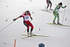 Justyna Kowalczyk, Poland<br /> World Cup ranked #1 nordic skier<br /> Rare fall at the départ of the skate sprint<br /> August 10, 2012