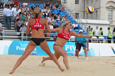 Great Britain V USA (Beach Volleyball)