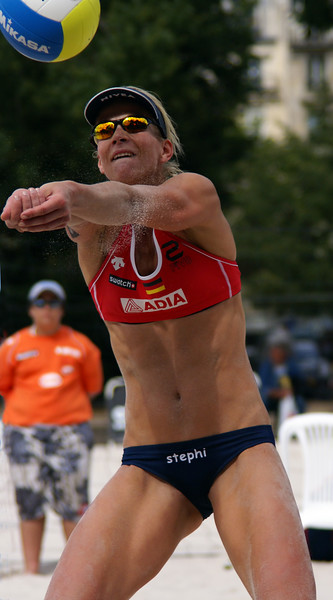 Paris Grand Slam 2007 - FIVB Beach Volleyball - Action shots