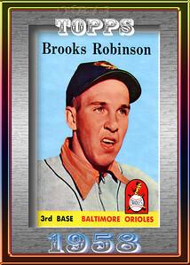 BROOKS ROBINSON 1958 5X7
