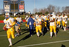Lawrence HS Football vs Bellport HS, November 25, 2006, 28-27. 2006 Long Island Conference II Football Championships, Stonybrook University, LaValle Stadium. Photo by Kathy Leistner.