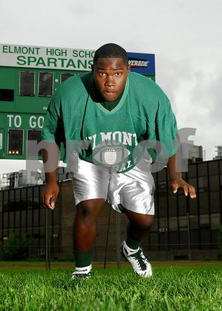 Andrew Prosper, Elmont HS 2007. Photo by Kathy Leistner
