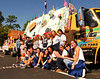 Junior Class 1st Place Float. Advisors, Christine Abajian, and Dave Hess.   Hewlett High School. HHS vs Calhoun. September 29th, 2007. Photo by Kathy Leistner