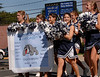 Junior Varsity Cheerleaders. Hewlett High School Homecoming Parade. September 29th, 2007. Photo by Kathy Leistner
