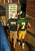 #7 Ben Strauss, 2 TD's enters locker room behind #44 Mike DeNapoli. Lynbrook vs New Hyde Park 35-0. September 29th, 2007Photo by Kathy Leistner