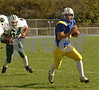 LHS #11 P J Preziosa. #64 Jake Cassella, Senior. Lawrence vs Bellmore JFK. October 20th, 2007. Photo by Kathy Leistner