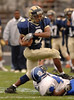 #3 Alex Williams, Baldwin.  Baldwin vs Hempstead, November 3rd, 2007. Photo by Kathy Leistner