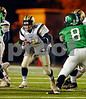 BHS Senior#4 Joey Giampiccolo. Conference I Football Playoffs, November 17th, 2007, Hofstra Shuart Stadium, Baldwin vs Farmingdale. Photo by Kathy Leistner
