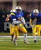 #3445 LHS #14 Justin Fredericks, 1st quarter, LHS vs E. Islip, 7-35. November 23, 2007. Photo by Kathy Leistner