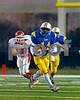 #3444 LHS #14 Justin Fredericks, 1st quarter, LHS vs E. Islip, 7-35. November 23, 2007. Photo by Kathy Leistner