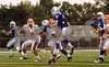#58 CHS takes the DHS QB#10 off his feet.  Carey HS vs Divisions Ave HS, 26-6. September 27th, 2008. Game played at DHS. Photo by Kathy Leistner