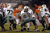 103d #5 EHS Diashawn Miller.  Elmont HS Football Semi-Final Nassau County Championships vs Carey HS. November 15th, 2008. Shuart Stadium, Hofstra. Photo by Kathy Leistner.