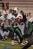 #5 EHS Diashawn Miller.  Elmont HS Football Semi-Final Nassau County Championships vs Carey HS. November 15th, 2008. Shuart Stadium, Hofstra. Photo by Kathy Leistner.