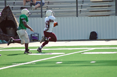 #16 Zach Smith going for touchdown
