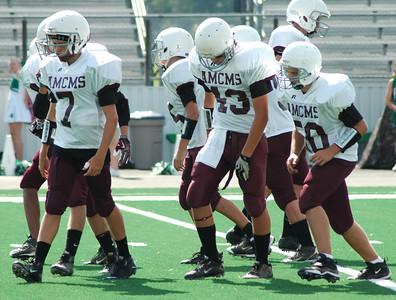 2010 AMCMS 8th Grade Football