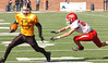 #13 for J.I. Burton eludes the last Haysi defender and rambles the last ten yards for a touchdown. Photo by Ned Jilton II