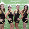 AMY SWEENEY/Staff photo<br /> Haverhill High Cheerleaders seniors 2012.<br /> Jen Shaw, left, Captain Mari DelRosso, Captain Erica Jarosz, and Miranda Clough.