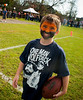 Brian Tierney, 5th Grader, Raider. East Rockaway High School Homecoming, October 22nd, 2011. ERHS vs WT Clarke HS, 27-21. Photo by Kathy Leistner