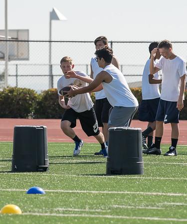 June 16, 2016 LOHS FROSH Football Practice