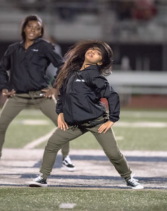 2017 Los Osos vs Upland Varsity Half Time Dance