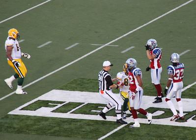 Alouettes vs Eskimos 2011