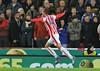 Stoke City vs Sheffield Wednesday Capital One Cup Quarter-Final 01/12/2015.