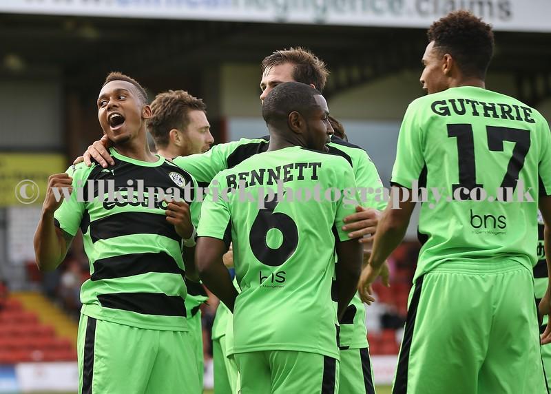 Vanarama National League - Kidderminster Harriers v Forest Green Rovers - 29/08/2015