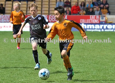 UNDER 11's - WOLVES v LEICESTER CITY