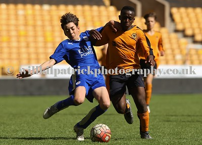 UNDER 14's - WOLVES v LEICESTER CITY