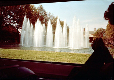 Fountain at Furman, Greenville, S.C.