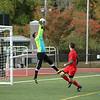 fsu goal keep Alex Al-Zaibak makes a great stop