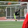 FSU Goalie Alex Al-Zaibak blocks a shot
