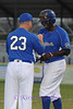 RJ Harris and Coach Ford.