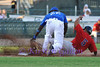 It is very clear this runner is out as Brandon Jones makes the tag. Image 3 of 3 in this series.