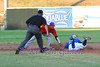 Outfielder RJ Harris making a slide to steal second.  This call was very controversial as he was safe but was called out. The Cats couldn't get the calls to go their way this particular night.