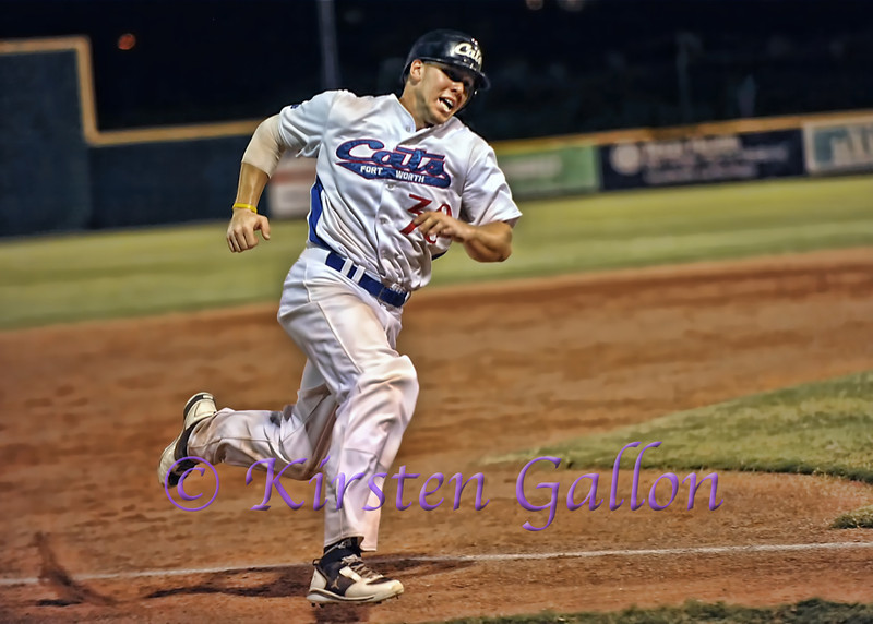 Scott Dalrymple going in for another Cats run.